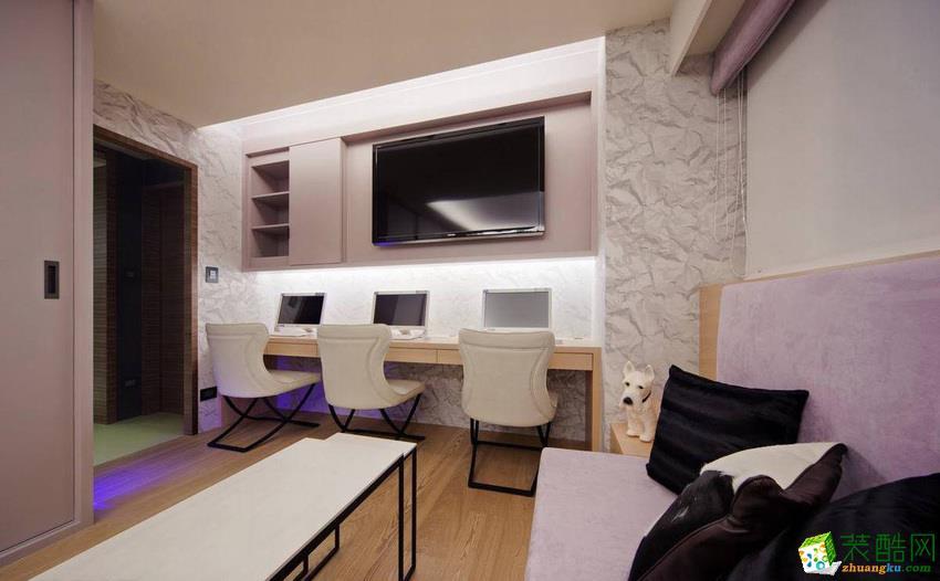 安康广美装饰-混搭两居室装修效果图