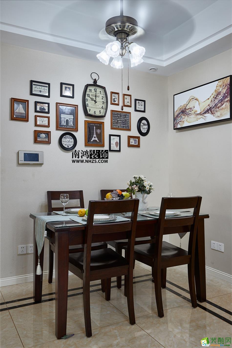 南鸿装饰―康城国际89�O简约风格案例-餐厅