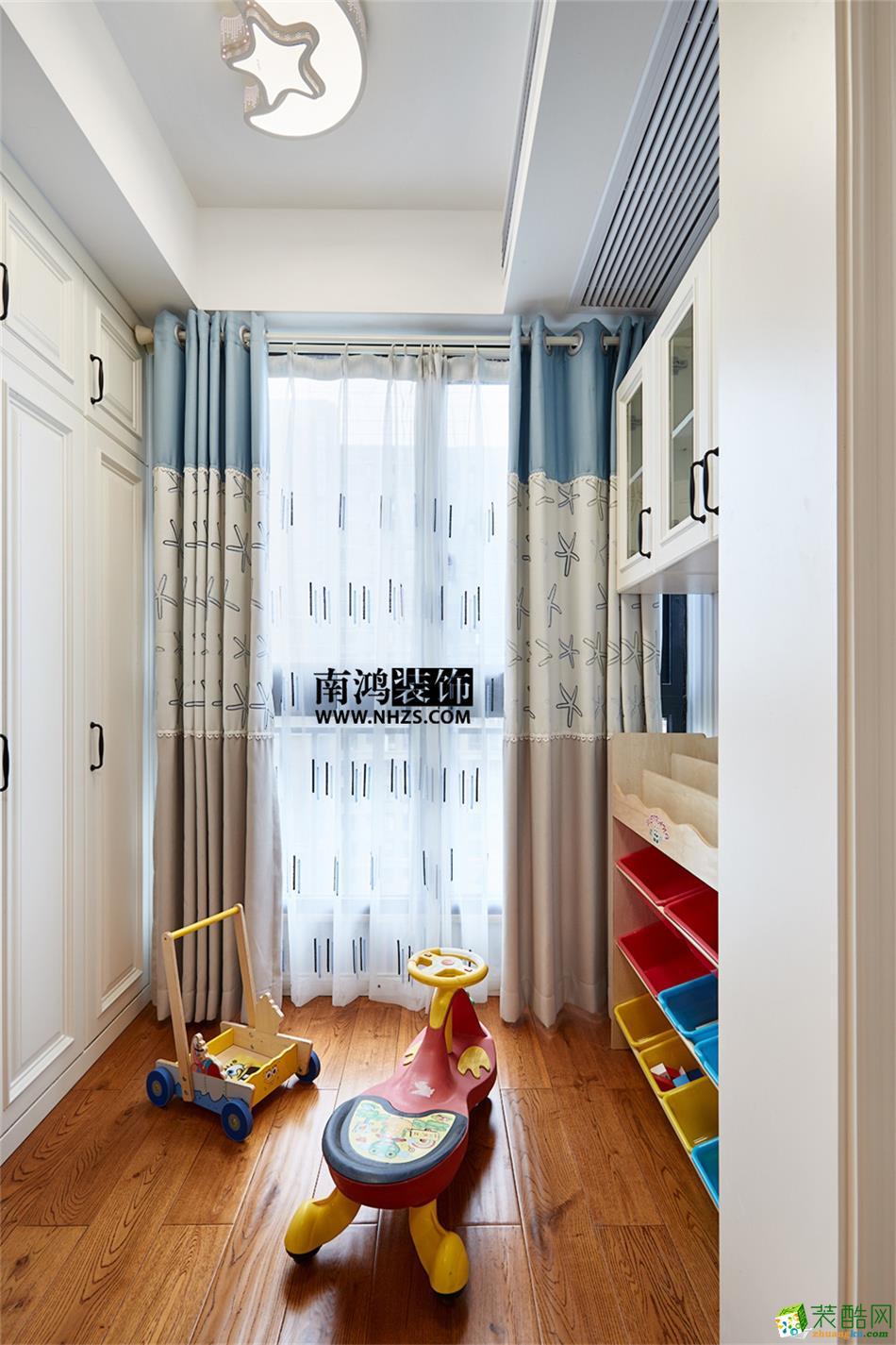 【南鸿装饰】康城国际89�O简约风格两室一厅装修效果图