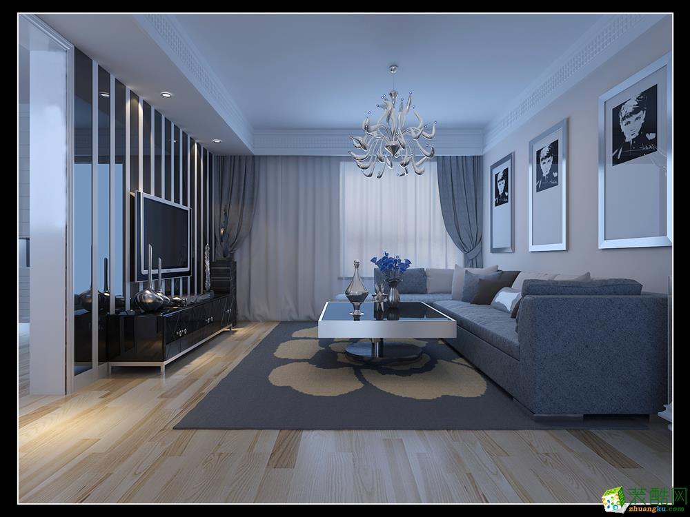东易日盛装饰―华强城113平米现代简约风格案例