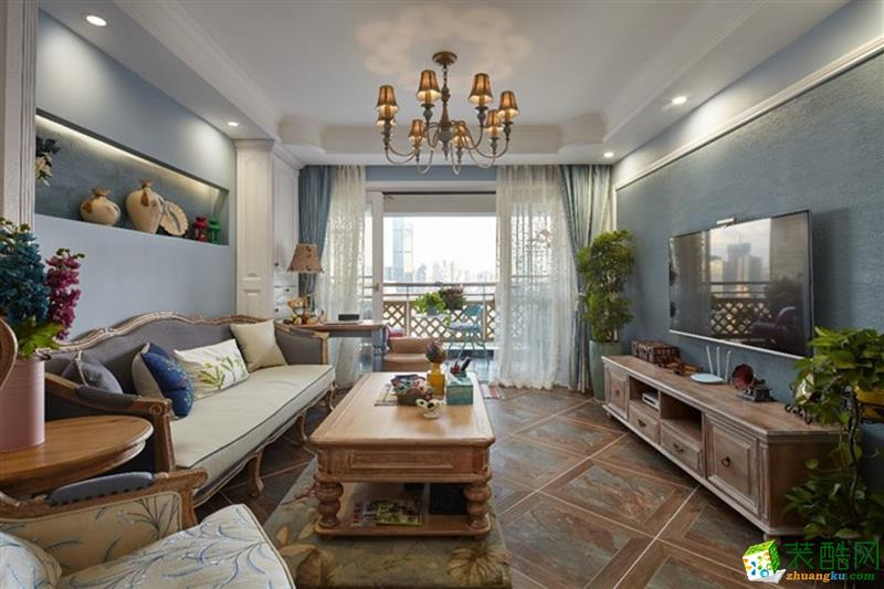 长沙淘家装饰-混搭两居室装修效果图