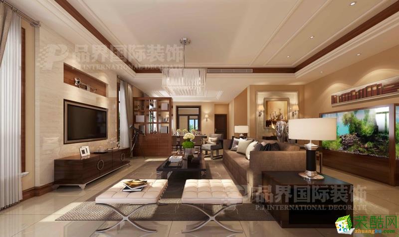 至德路9号联排别墅现代风格别墅设计效果图客厅效果图