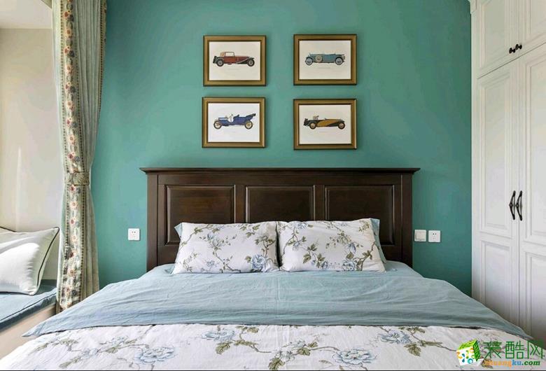 楼兰美家―99平米美式风格案例