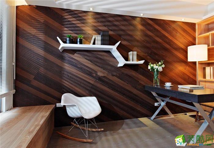 【华浔品味装饰】混搭风格三居室85平米装修案例图