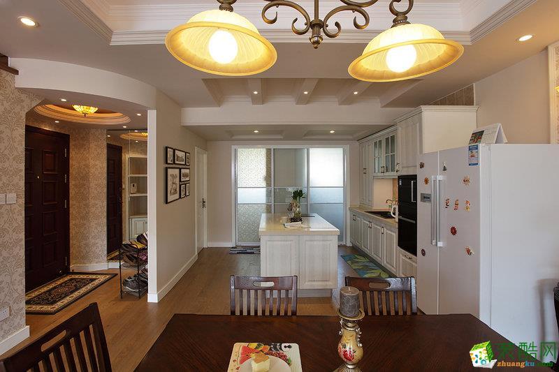 【华浔品味装饰】中式风格95平米三居室装修案例图