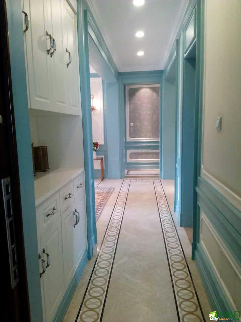 国泰一品庄园B1户型三室两厅装修效果图
