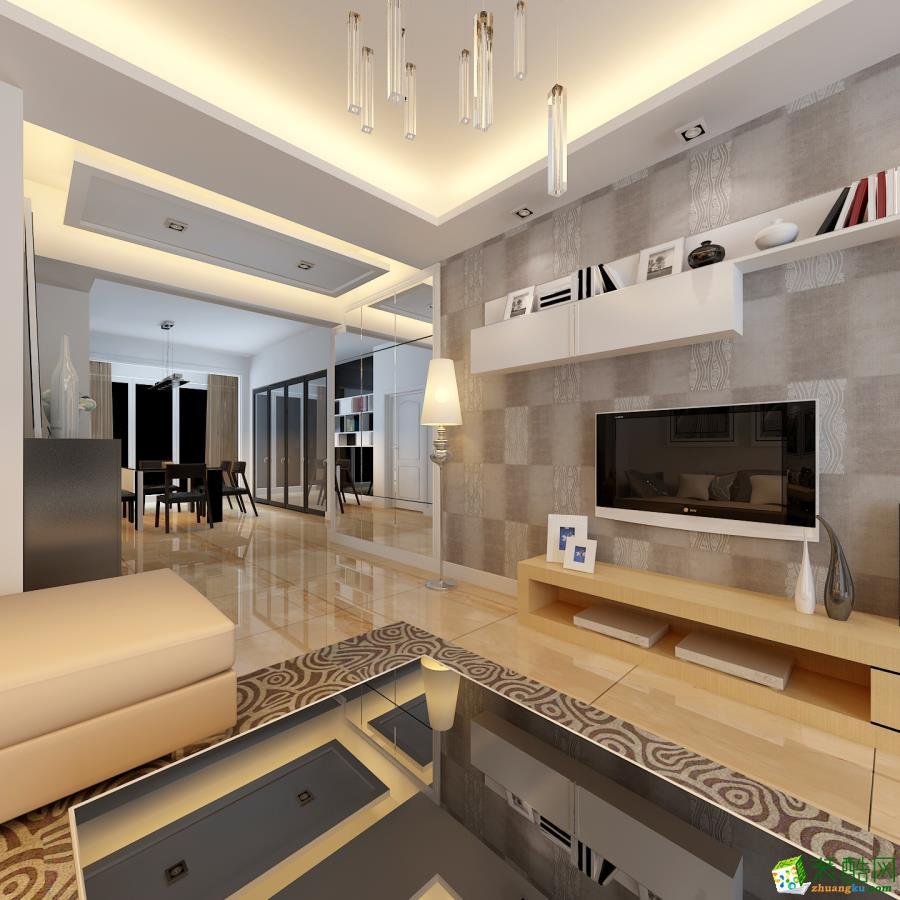 【二十四城裝飾】建工新城·建禮家園 現代簡約裝修效果圖