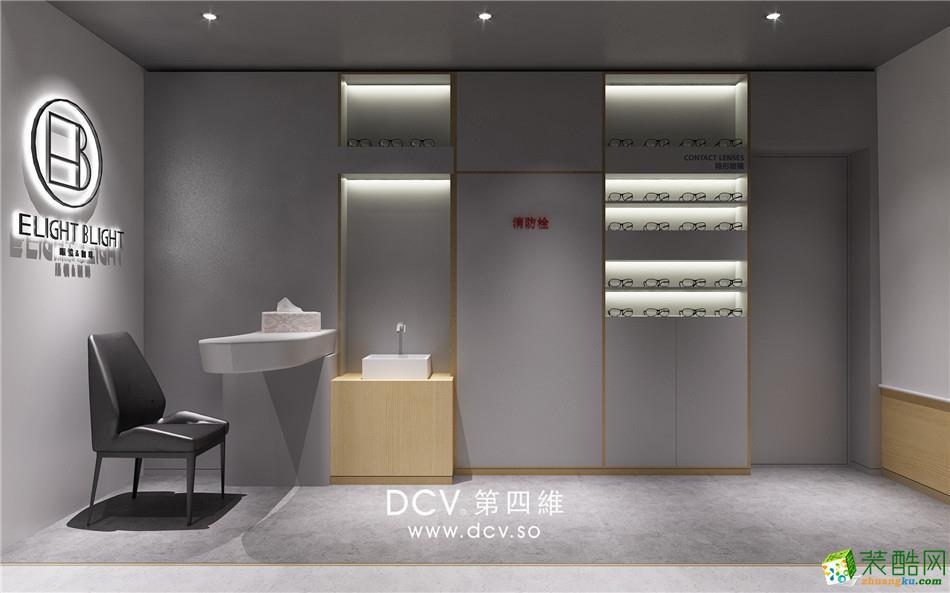 西安极简风主题餐厅设计EB眼镜&咖啡-工作区