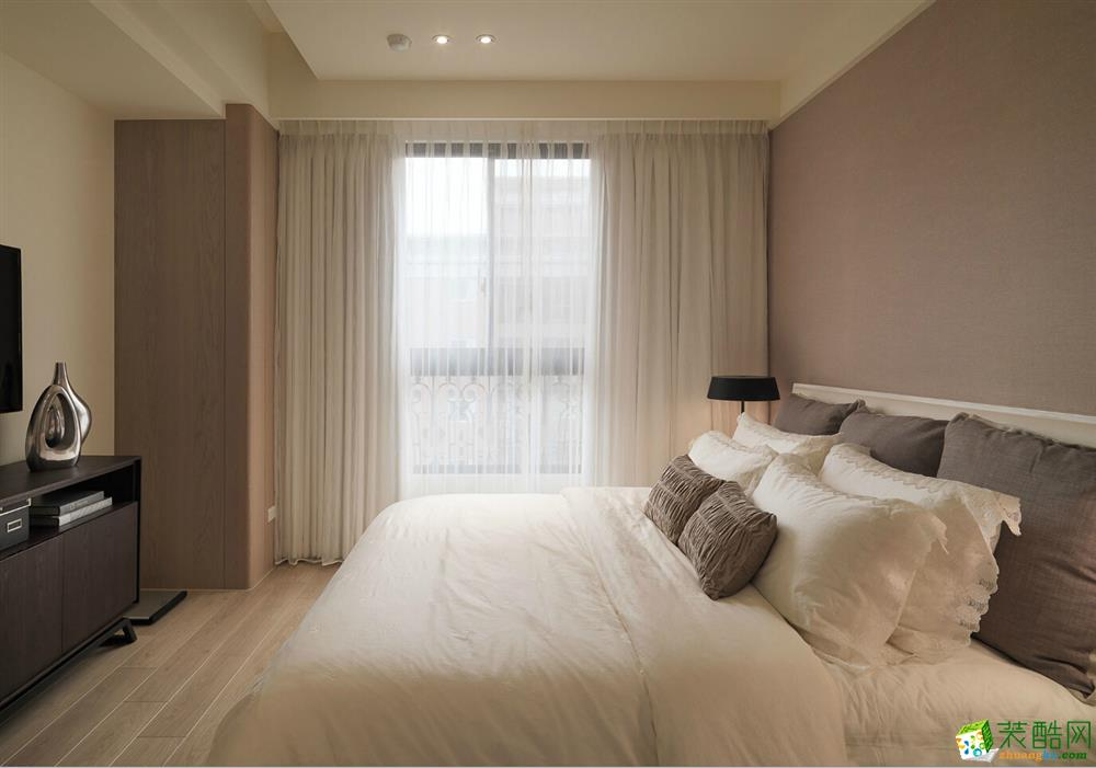 85平简美风格两居室装修效果图-10万全包-厨房