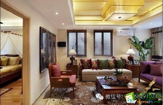72平二居室装修―造型追求人情味