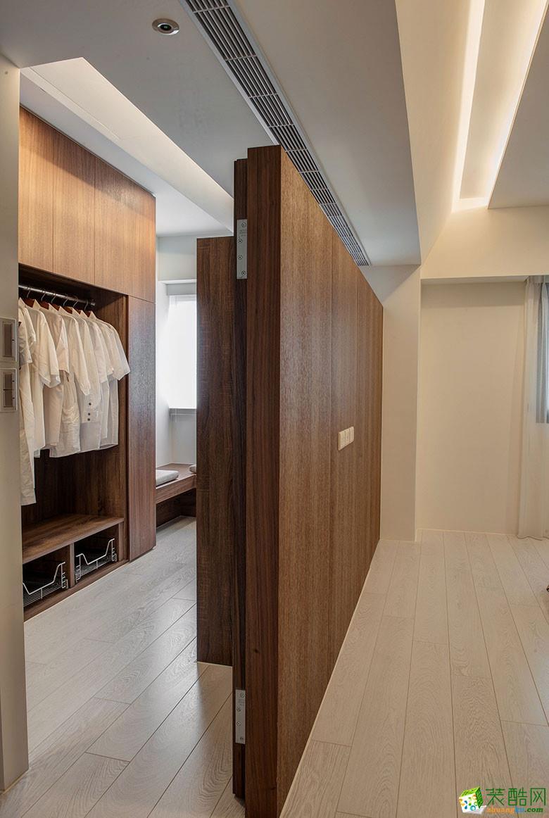 美颂雅庭装饰―113�O原木现代两居室-卧室1