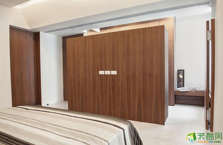 美颂雅庭装饰―113�O原木现代两居室-卧室