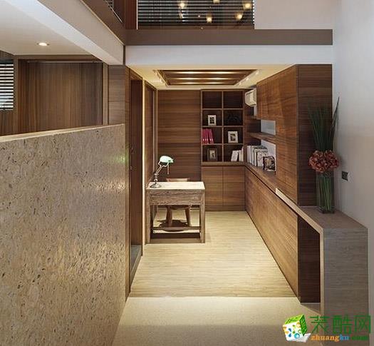 长沙宅速美装饰-现代简约两居室装修效果图
