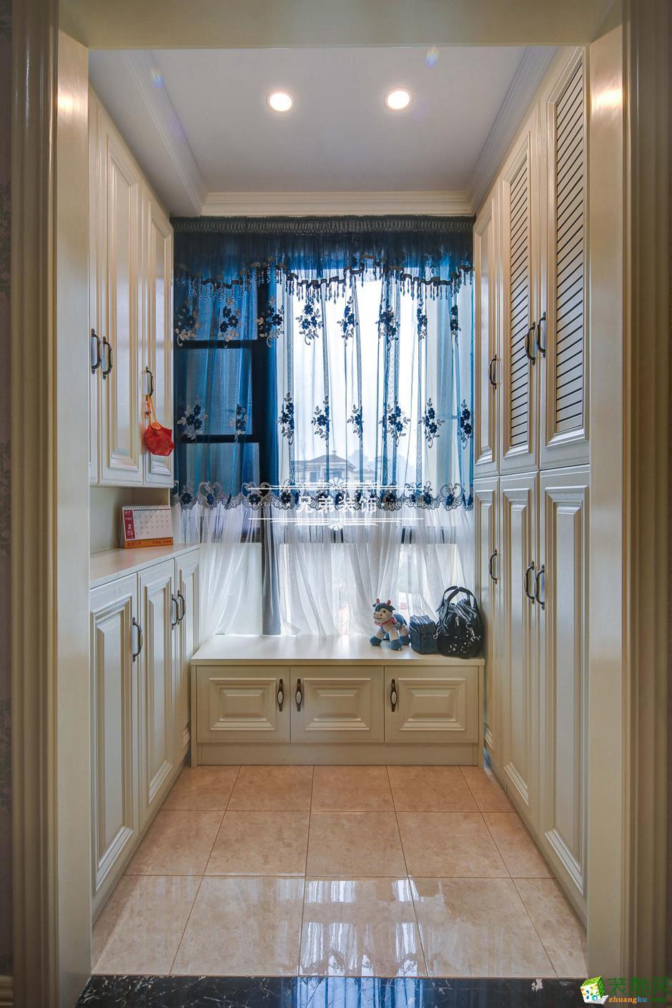 136平欧式风格三居室装修效果图-阳台1