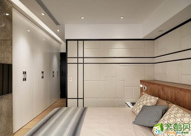 【隆诚装饰】简约风格 85平米 两居室装修案例