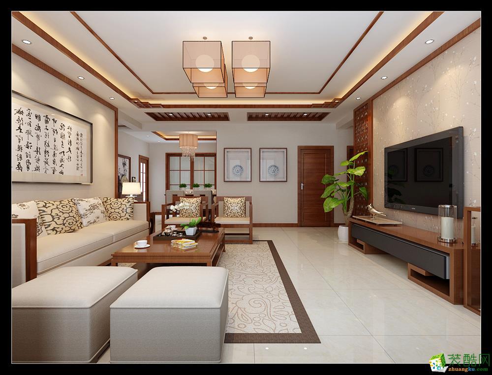 西安福尚装饰―白桦林明天效果图