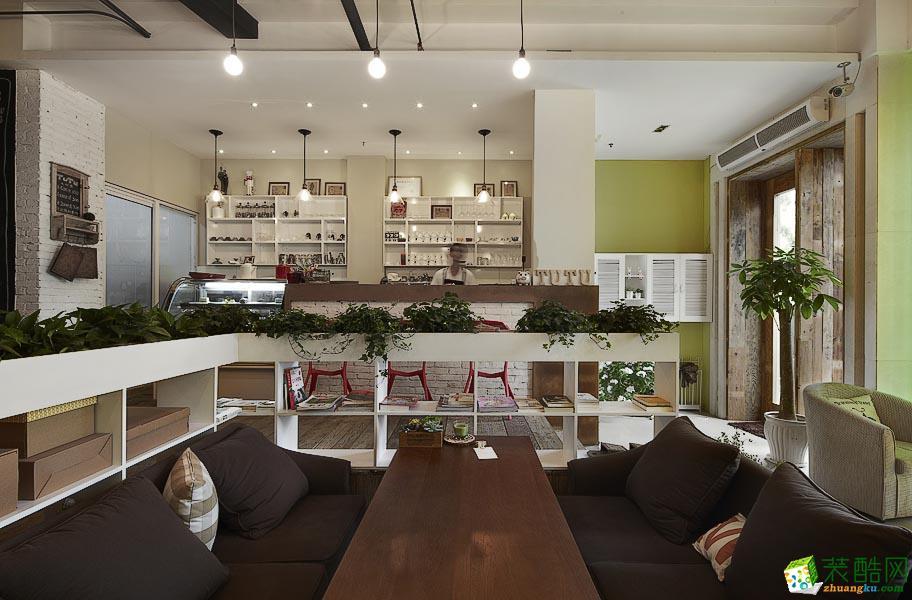鉑雅裝飾—220㎡咖啡店裝修