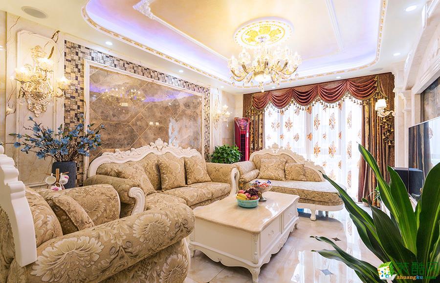醴陵紫荆苑110平欧式古典风