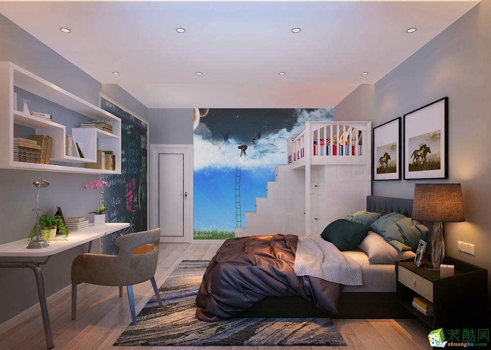 六合雅居―66�O小两室现代简约风格案例