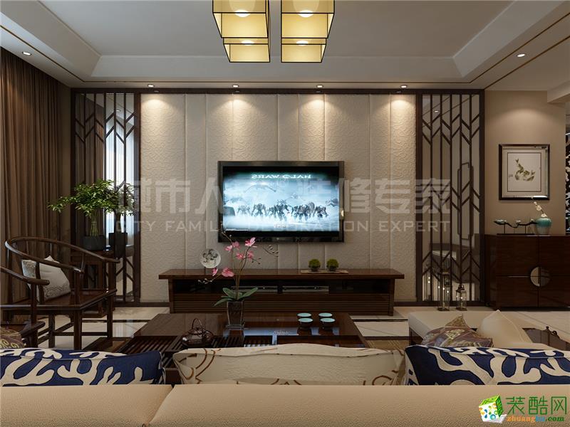 台儿庄凤凰水城中式风格案例