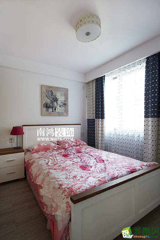 【南鸿装饰】府新花园100�O北欧风格两居室装修效果图
