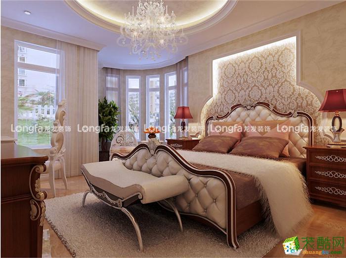 龙发装饰―天宇郡城160�O欧式风格四居室