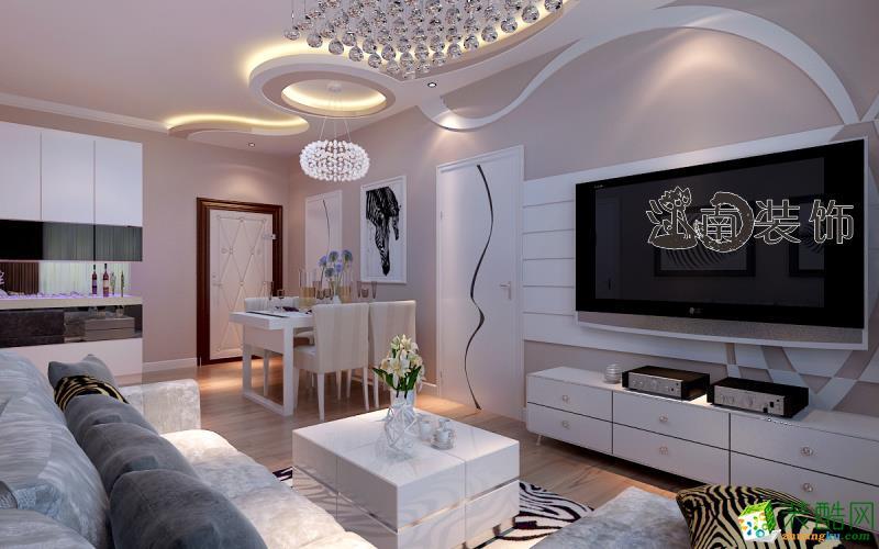 江南装饰―民主家园65平现代简约两居室