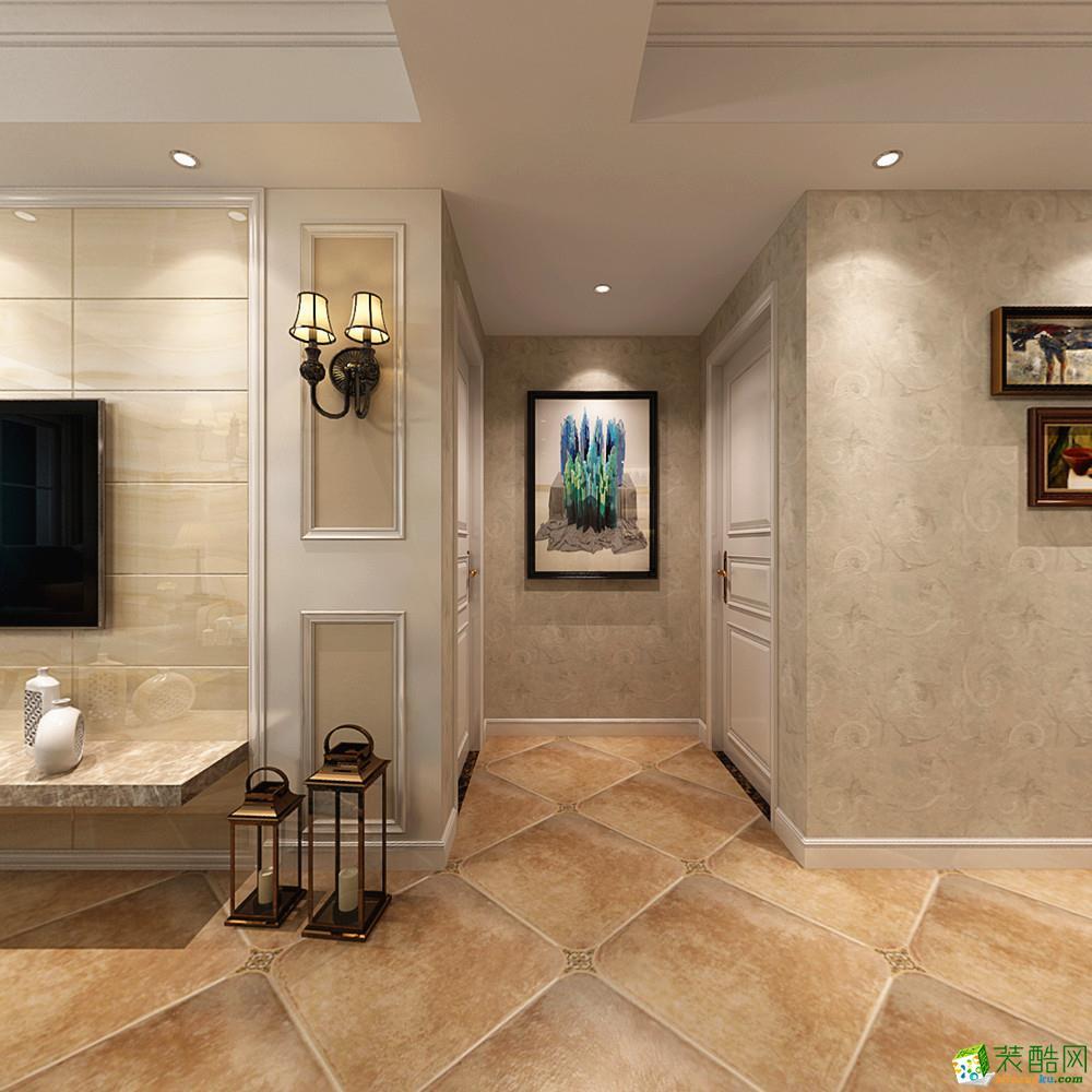 长沙一米装饰-混搭两居室装修效果图