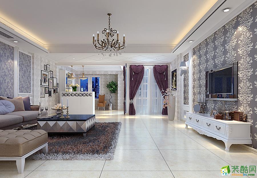 池州春秋装饰-现代简约三居室装修效果图