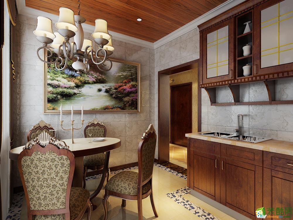 怡家装饰―天江格调130�O古典欧式三居室
