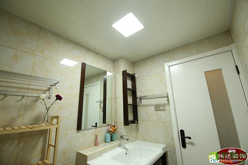 滁州伟达装饰-现代三居室装修效果图
