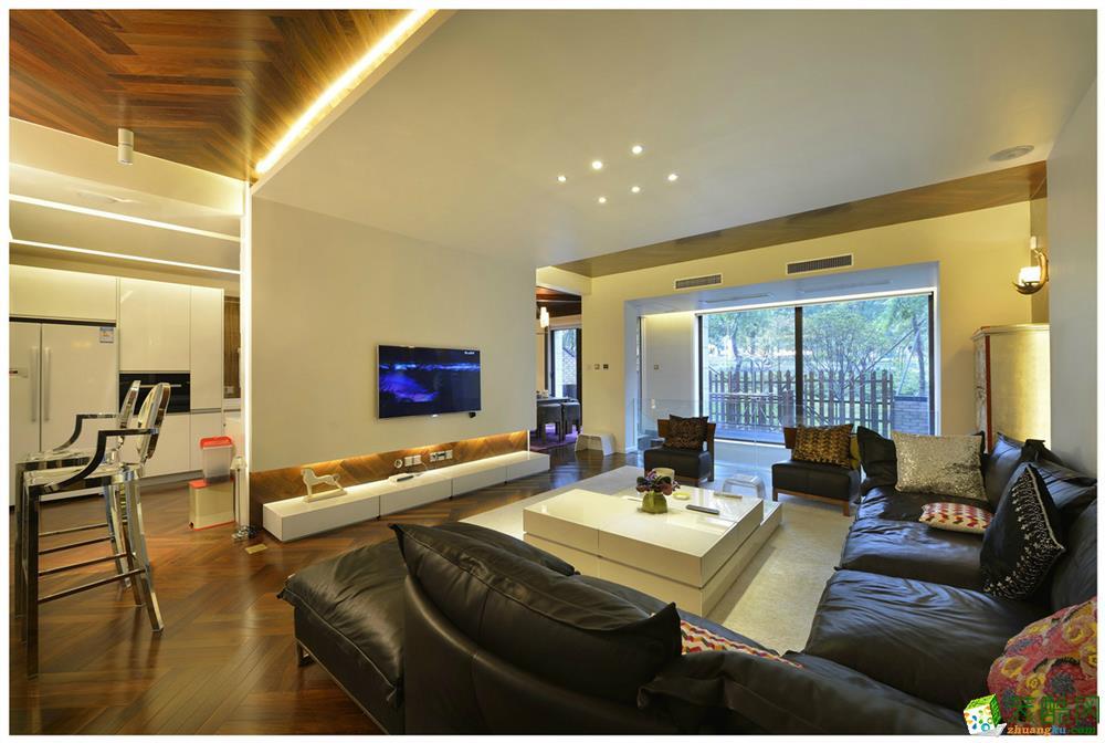 滁州金阳装饰-混搭三居室装修效果图