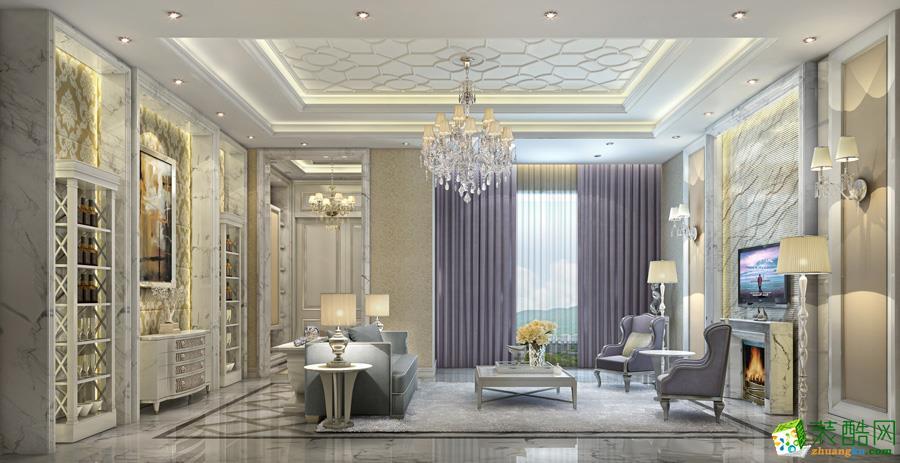 滁州金阳装饰-简欧两居室装修效果图