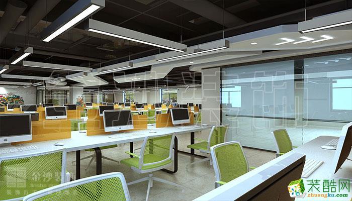 【金沙建筑裝飾】傳媒公司600平米現代風格案例圖