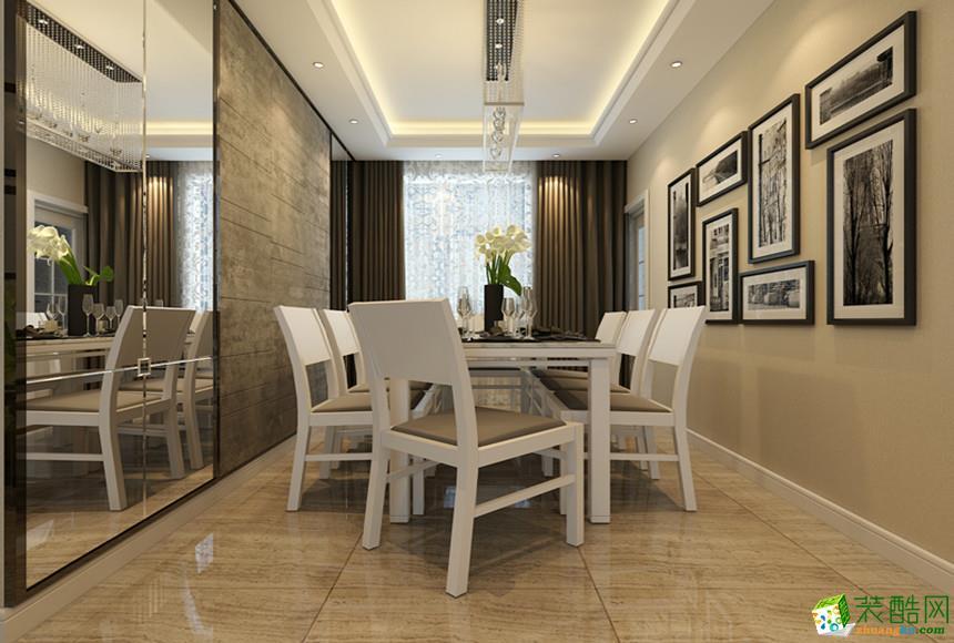 长沙宅速美装饰-现代简约三居室装修效果图