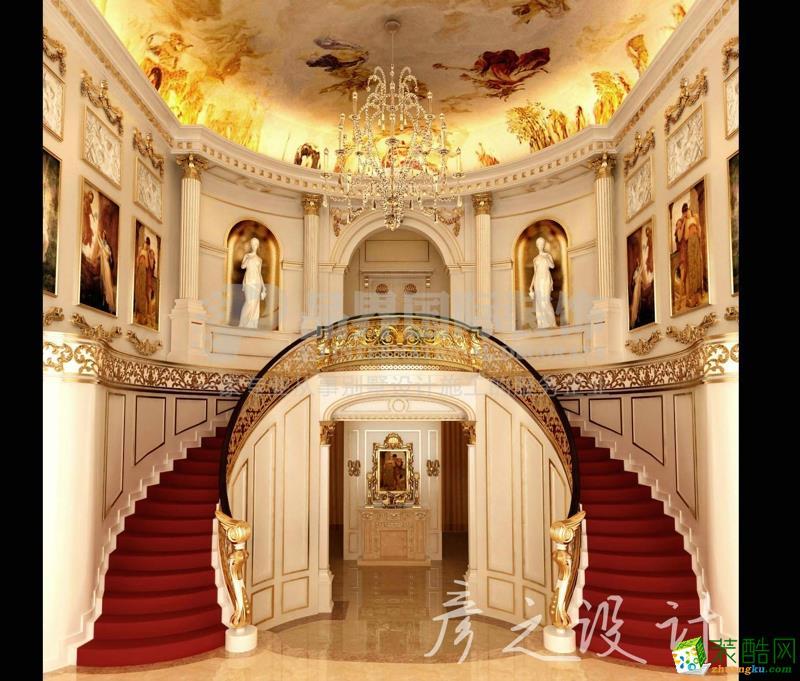 碧水庄园别墅法式宫廷风格装修设计