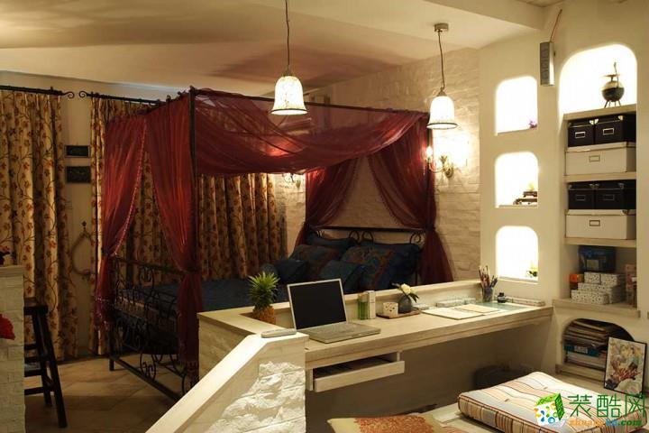 华扬日盛装饰—48㎡温馨小户型单身公寓