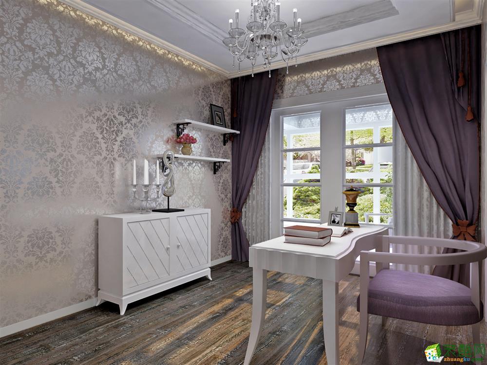 长沙品�醋笆�-欧式两居室装修效果图