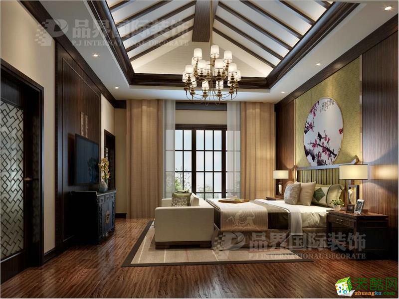 重庆庆隆山外山别墅装修设计效果图