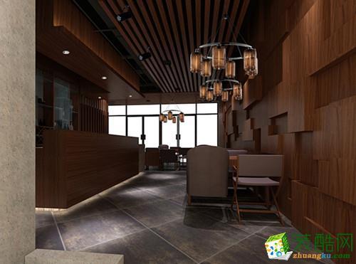 【业永盛建筑章鱼直播间章鱼直播app官网】咖啡厅效果图