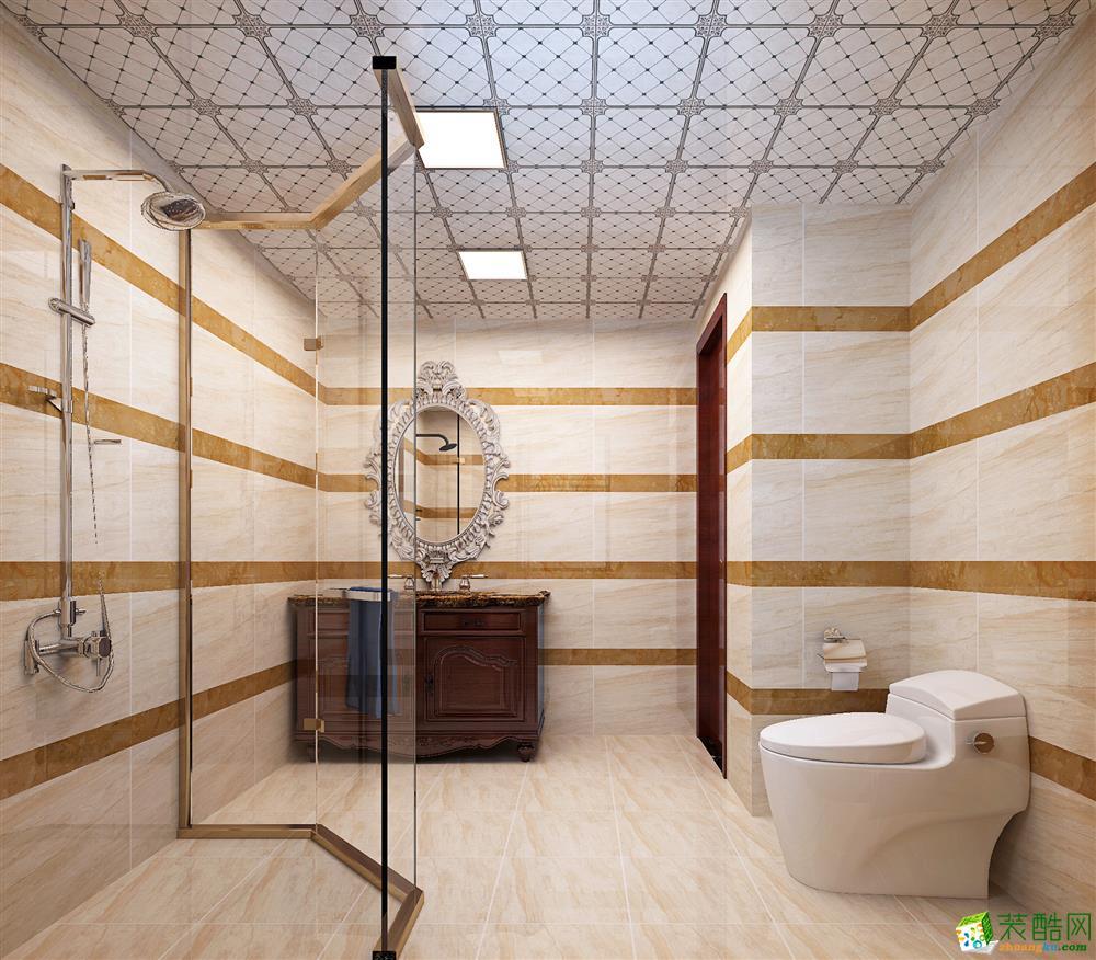 卫浴  120平现代简约三居室装修