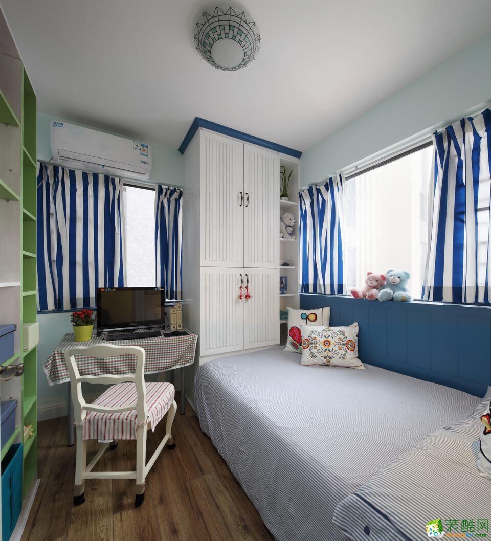 名星装饰―86�O美式田园两室一厅