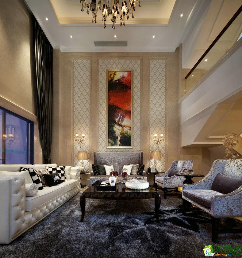 【美家堂装饰】博海锦城 新古典风格实景案例图
