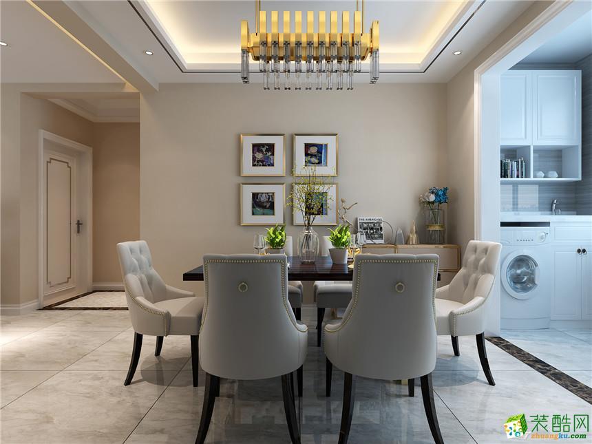 西安峰淘装饰-现代简约两居室装修效果图