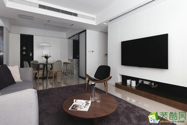 宅居宅修装饰-130平简约风时尚风格装修效果图