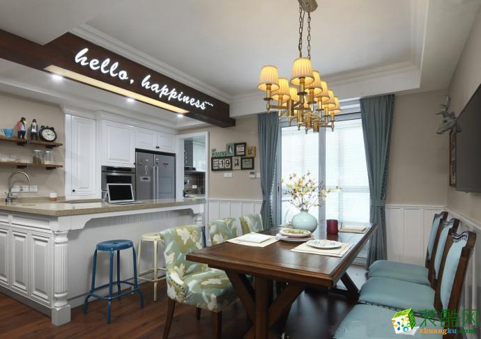 餐厅  融侨悦府129平 美式混搭风三居室