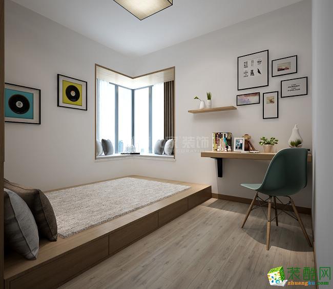 西安城市人家装饰-金旅城北欧三居室装修效果图