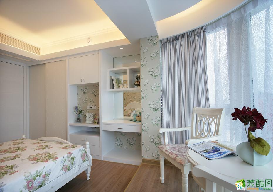 【澳华装饰】滨江花园84�O美式风格两居室