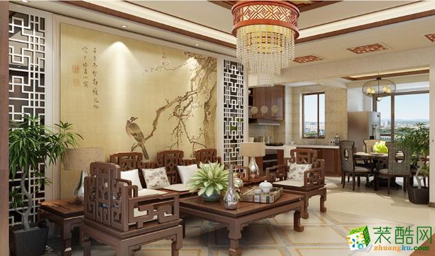 魯公大宅/中式風格/三室兩廳