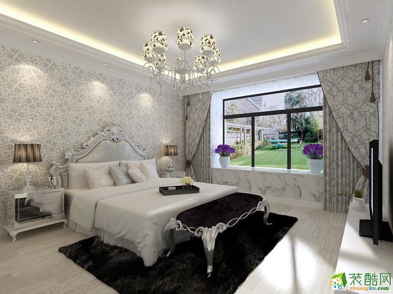 大業美家裝飾—115㎡簡歐風格三居室